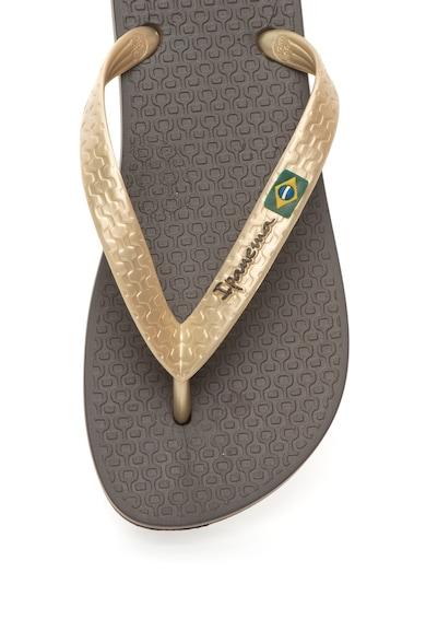 Ipanema Papuci flip-flop cu logo Clas Brasil Femei