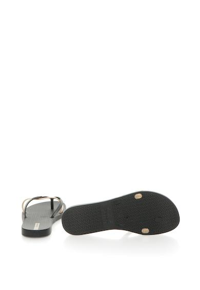 Ipanema Papuci flip-flop cu design suprapus Kirei Femei
