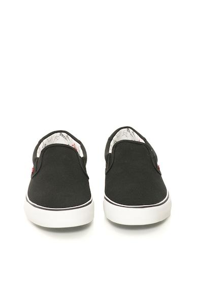 Levi's Pantofi slip-on negri Barbati