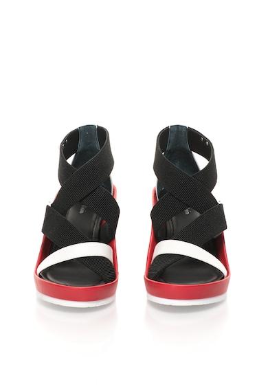 Calvin Klein Sandale cu platforma si benzi elastice Femei