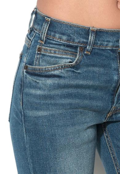 Levi's Blugi slim fit drepti albastri 505™C Femei