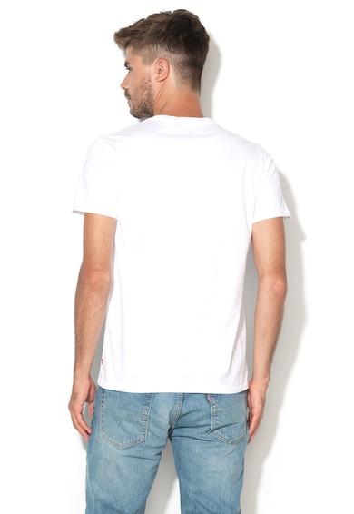 Levi's Tricou alb cu logo Barbati