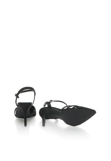 NEW LOOK Pantofi cu toc inalt, varf ascutit si bareta cu catarama Femei