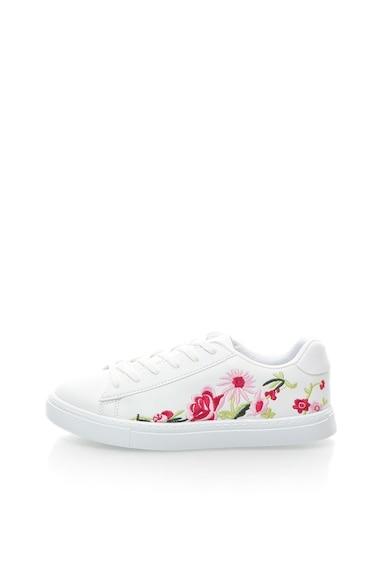 NEW LOOK Pantofi sport cu trandafiri brodati Femei