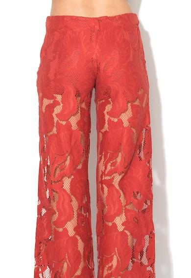 GUESS JEANS Pantaloni drepti din dantela Femei