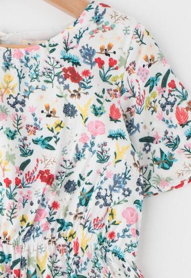 Yumi Rochie evazata cu imprimeu floral Fete
