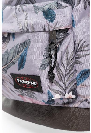 Eastpak Rucsac cu model tropical si garnituri de piele Femei