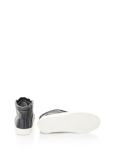 Pepe Jeans Pantofi sport inalti de piele sintetica Clinton Sally Femei