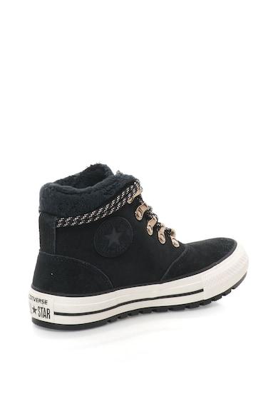 Converse Pantofi sport inalti de piele intoarsa Chuck Taylor Femei