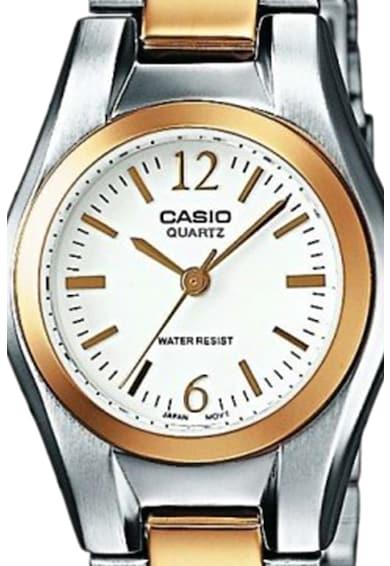 Casio Ceas metalic cu mecanism quartz Femei