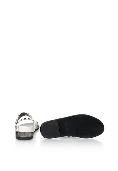 Diesel Sandale de piele cu tinte Sa-nnill Femei