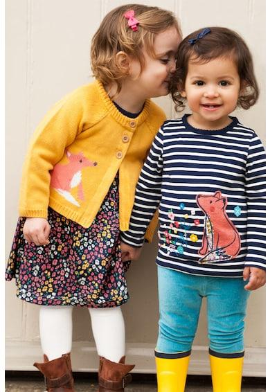 JoJo Maman Bebe Cardigan tricotat cu imprimeu Fete