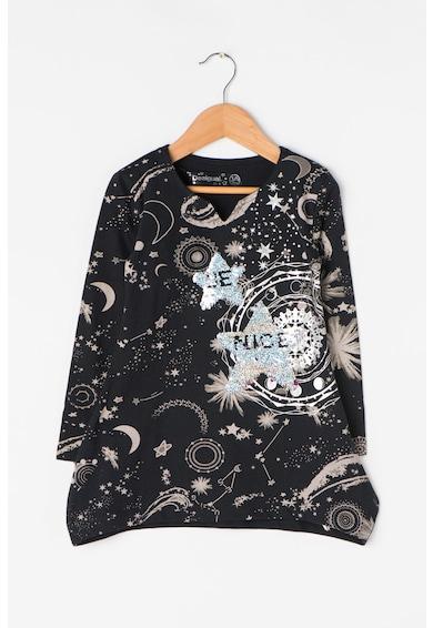 DESIGUAL Bluza cu paiete Chivite Fete