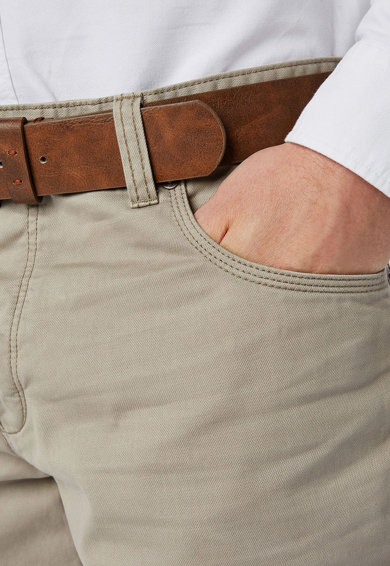 NEXT Pantaloni accesorizati cu o curea Barbati