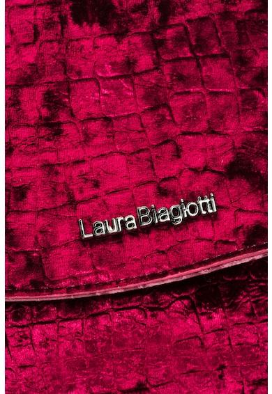 Laura Biagiotti Geanta crossbody catifelata Femei