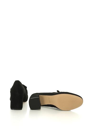 Aldo Pantofi din piele intoarsa cu detaliu lant Alenne Femei
