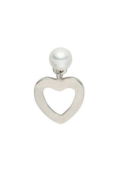 Zee Lane Cercei cu tija decorati cu o perla sintetica Femei