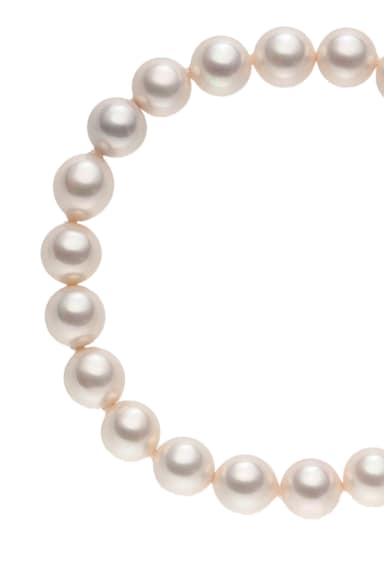 Zee Lane Bratara placata cu rodiu cu perle organice Femei