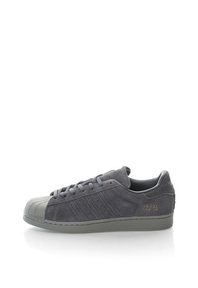Adidas ORIGINALS Pantofi sport cu piele intoarsa Superstar Barbati