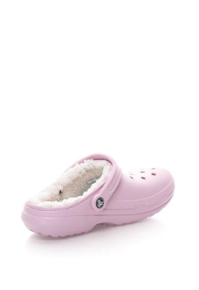 Crocs Papuci slingback cu captuseala teddy Femei