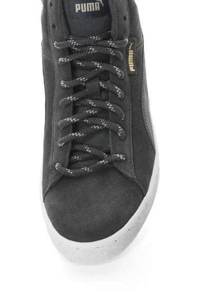 Puma Pantofi sport mid-high de piele intoarsa cu garnituri din material textil 1948 Barbati