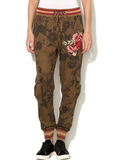 DESIGUAL Pantaloni jogger cu imprimeu floral Manoli Femei