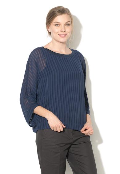 Esprit Bluza din sifon cu pliuri Femei