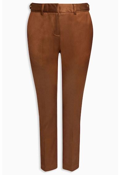 NEXT Pantaloni crop cu buzunare cu refilet Femei