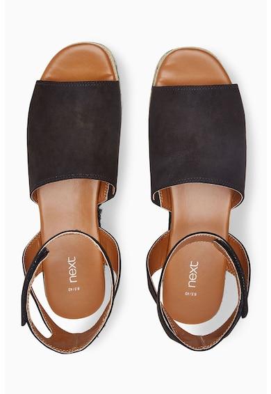 NEXT Pantofi flatform de piele sintetica Femei