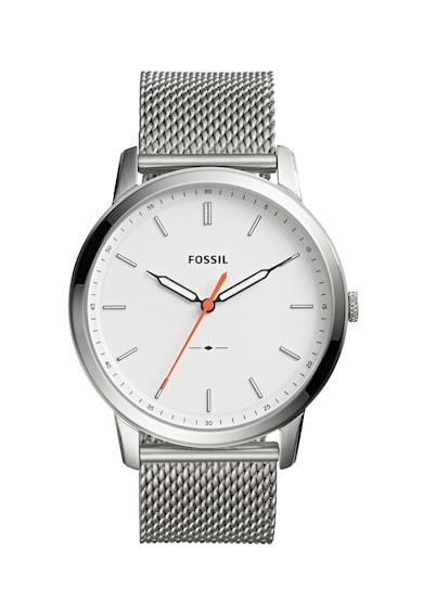 Fossil Ceas minimalist cu bratara model plasa Barbati