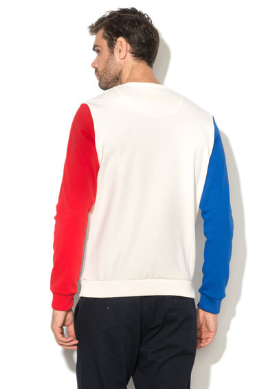 Le Coq Sportif Bluza sport cu text brodat Tri Lf Barbati
