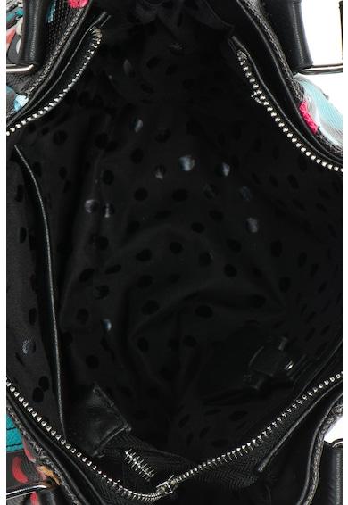 DESIGUAL Geanta de umar de piele sintetica cu imprimeu floral Misha Femei