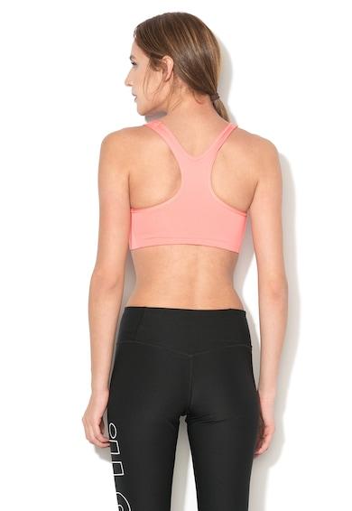 Nike Bustier cu spate decupat si imprimeu logo Femei