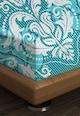 Leunelle Cearsaf cu elastic multicolor si cu motive victoriene Femei