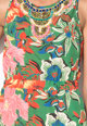 DESIGUAL Rochie multicolora cu margele Austria Femei