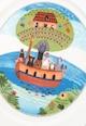 Villeroy&Boch Platou multicolor cu imprimeu Naif Femei