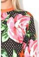 Love Moschino Bluza sport cu model floral Femei